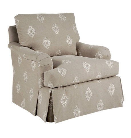 Pearson - Skirted Pillow Back Chair - 806-00