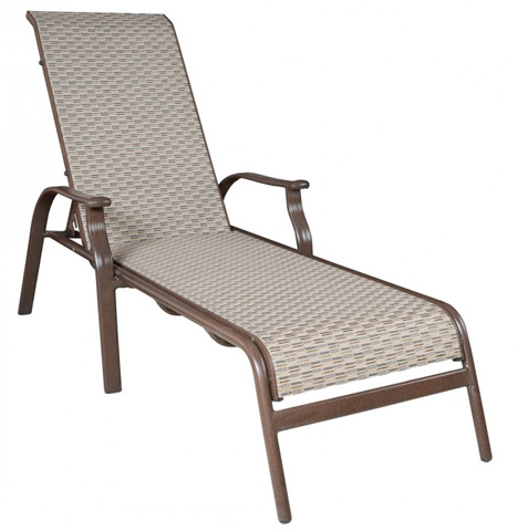 Image of Stackable Sling Chaise Lounge