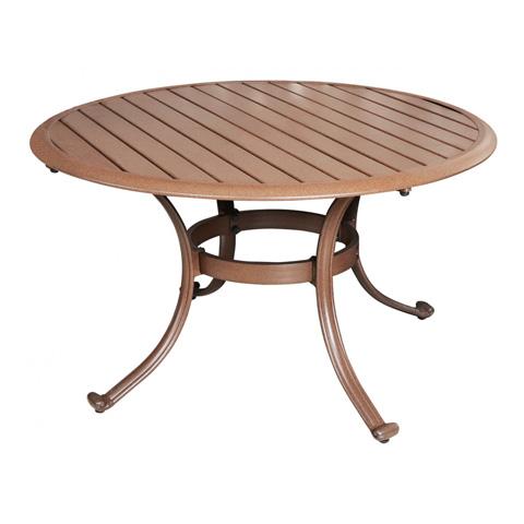 Pelican Reef - Coffee Table with Slatted Aluminum Top - PJO-1001-ESP-CT