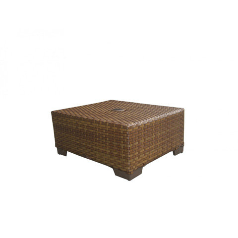 Image of Coffee Table in Brown Pine Finish