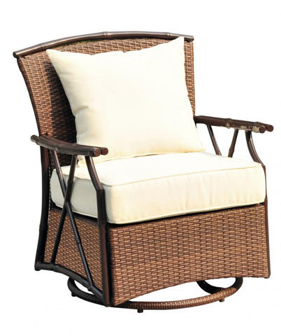 Image of Panama Jack Rum Cay Swivel Lounge Chair