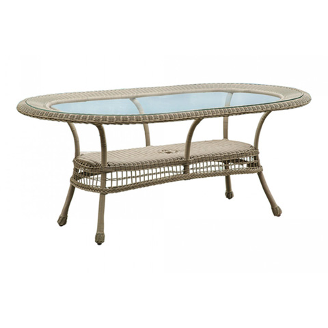 Image of Panama Jack Carolina Beach Oval Dining Table