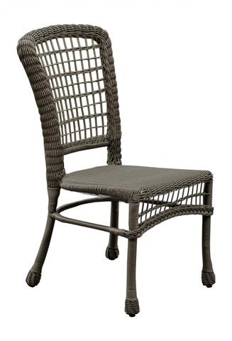 Pelican Reef - Panama Jack Carolina Beach Stackable Side Chair - PJO-1301-GRY-SC