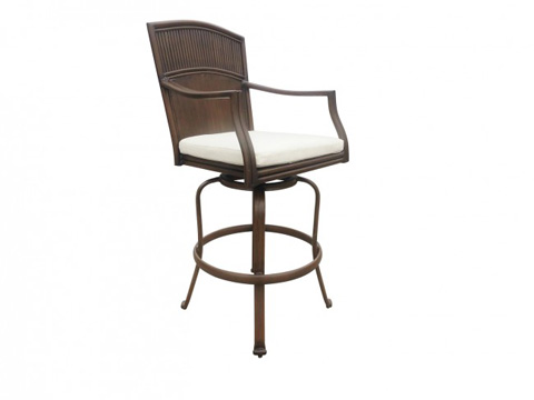 Image of Panama Jack Tiki Bar Swivel Barstool