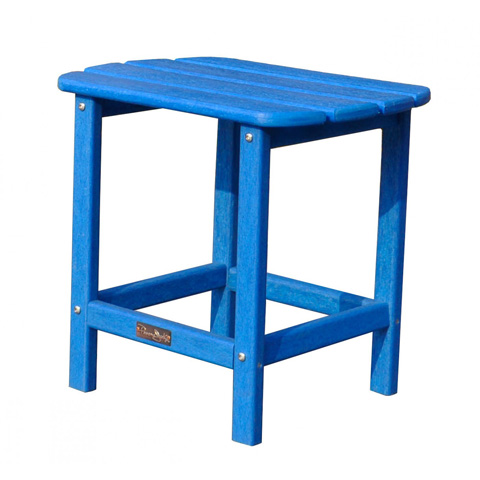 Image of Panama Jack Blue Adirondack End Table