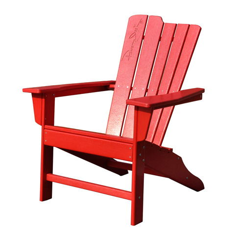 Image of Panama Jack Red Adirondack Chair
