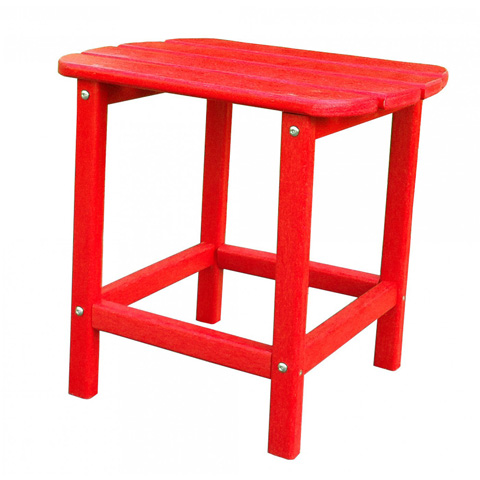 Image of Panama Jack Red Adirondack End Table