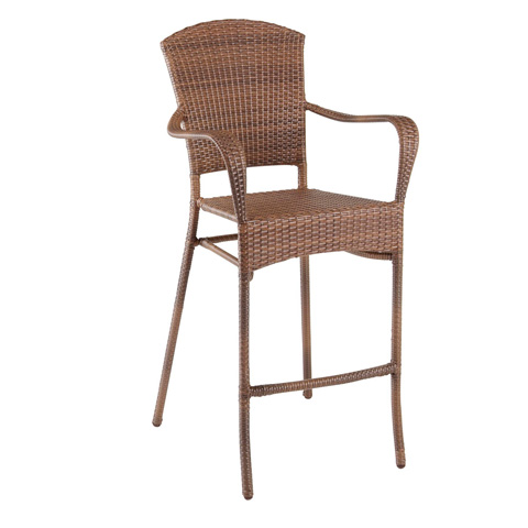 Image of Panama Jack Key Biscayne Stackable Woven Barstool