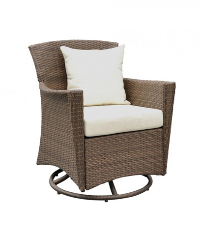 Image of Panama Jack Key Biscayne Swivel Lounge Chair