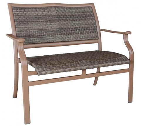 Image of Island Cove Woven Stackable Loveseat