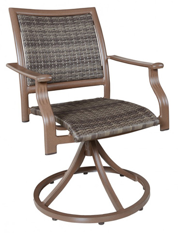 Pelican Reef - Woven Swivel Arm Chair (Set of 2) - PJO-8001-ESP-SD