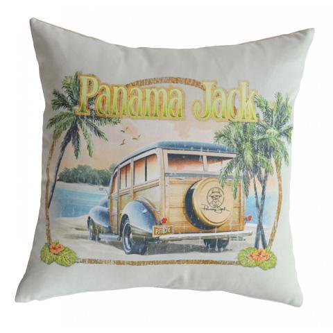 Pelican Reef - Panama Jack No Problems Throw Pillow - PJO-9001-NP-TP