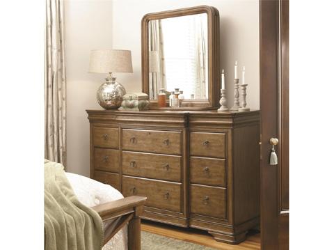 Universal Furniture - Drawer Dresser with Vertical Storage Mirror - 07106M/071040