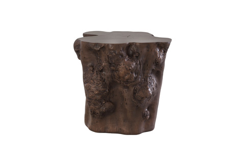 Phillips Collection - Log Side Table in Walnut - PH56725