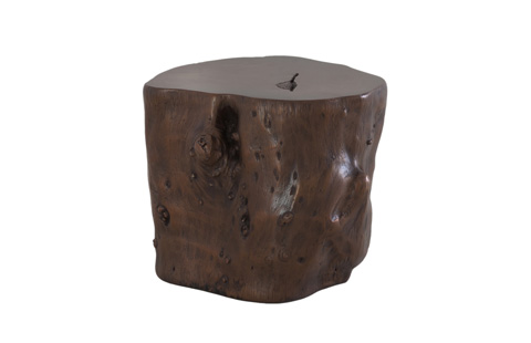 Phillips Collection - Log Stool in Walnut - PH56724