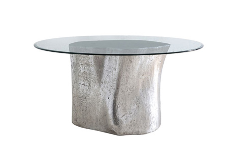 Phillips Collection - Log Table With Glass - PH57270