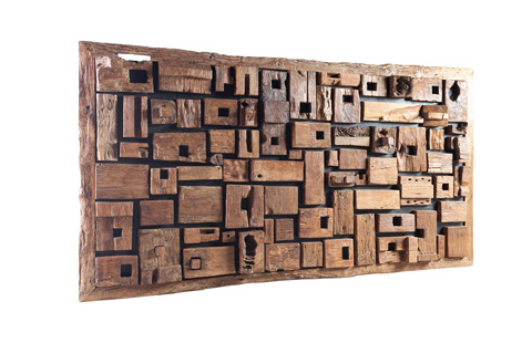 Phillips Collection - Large Asken Wood Wall Panel - ID66473