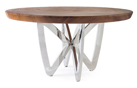 Phillips Collection - Large Kissing Butterfly Dining Table - ID66953
