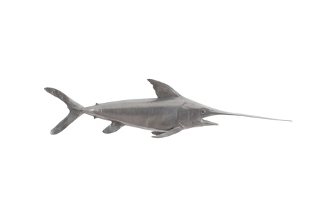 Phillips Collection - Broadbilled Fish in Polished Aluminum - PH65285