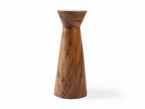 Phillips Collection - High Hourglass Wood Pedestal - ID65180