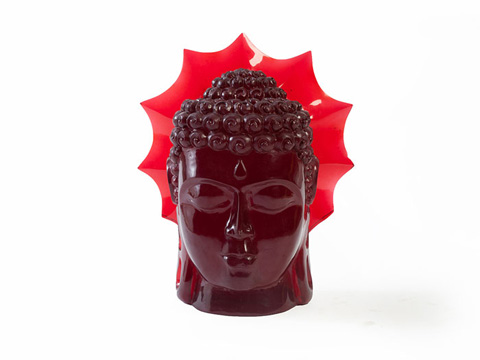 Phillips Collection - Ruby Buddha Head - ID66351