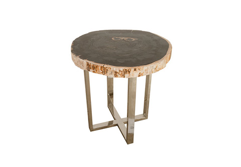 Phillips Collection - Petrified Side Table - ID68511