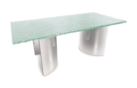 Phillips Collection - Glass Bubble Dining Table - ID74400