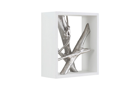 Phillips Collection - Framed Branches Wall Tile - PH63690