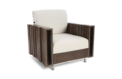 Phillips Collection - Strip Lounge Chair - PH75341
