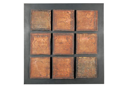 Phillips Collection - Galvanized Squares on Frame - TH55888