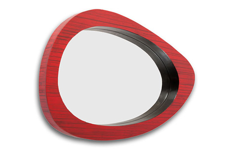 Phillips Collection - Bamboo Abstract Mirror - TH60129