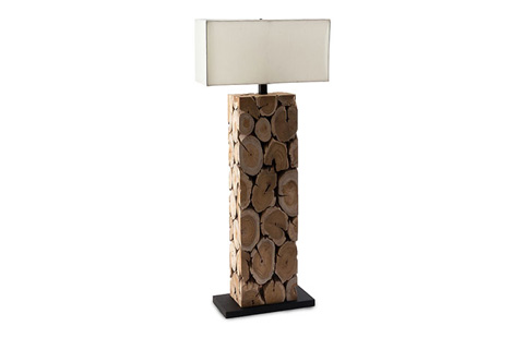 Phillips Collection - Teak Wood Lamp - TH60763