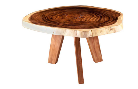 Phillips Collection - Chamcha Wood Round Dining Table - TH62904