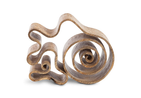Phillips Collection - Curly Wood Sculpture - ID72617