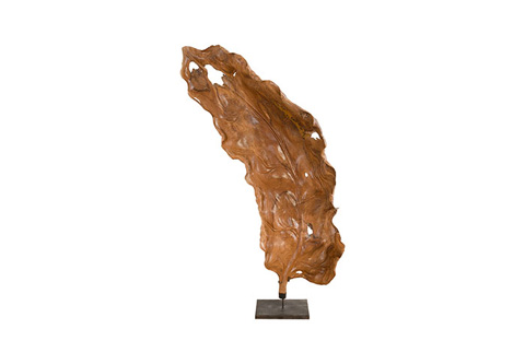 Phillips Collection - Leaf Wood Sculpture - ID74274