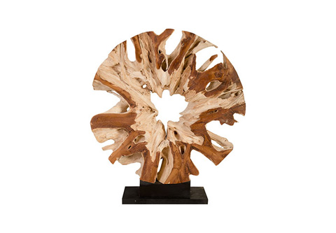 Phillips Collection - Teak Wood Sculpture - ID76420