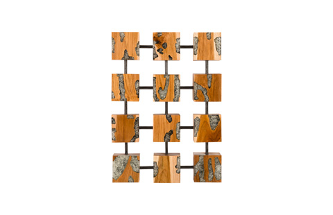 Phillips Collection - Exploded Glitz Cube Wall Art - ID78285