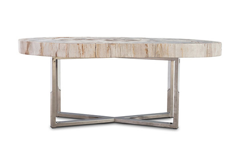 Phillips Collection - Petrified Wood Coffee Table - ID70142
