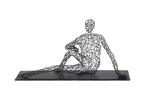 Phillips Collection - Crazy Wire Man Sitting - PH74330