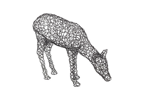 Phillips Collection - Crazy Wire Deer - PH74333