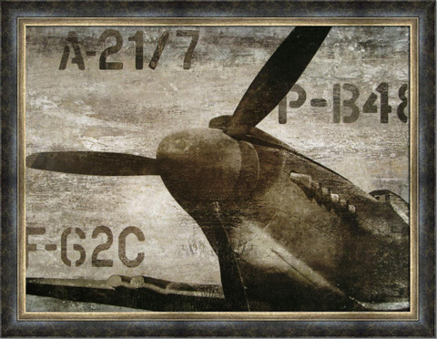 The Picture Source - Vintage Airplane - AKM111B