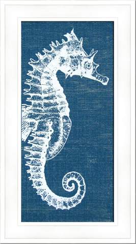 The Picture Source - Denim Wash Seahorse - AKN105A