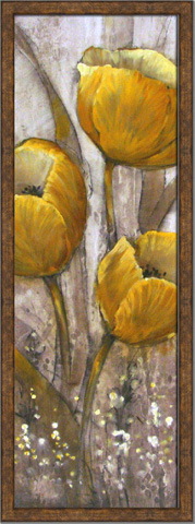 The Picture Source - Ochre Tulips II - AKO275B