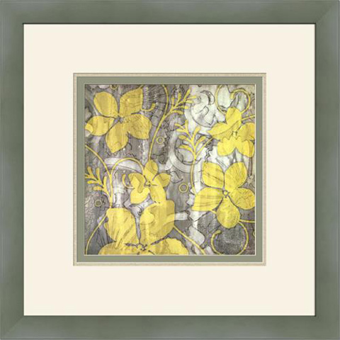 The Picture Source - Yellow & Gray II - G102B