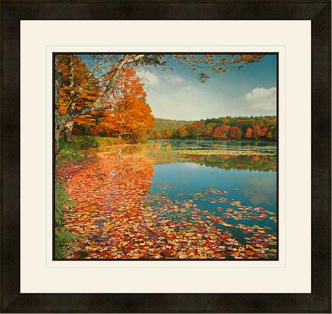 The Picture Source - Bass Lake In Autumn II - H659B