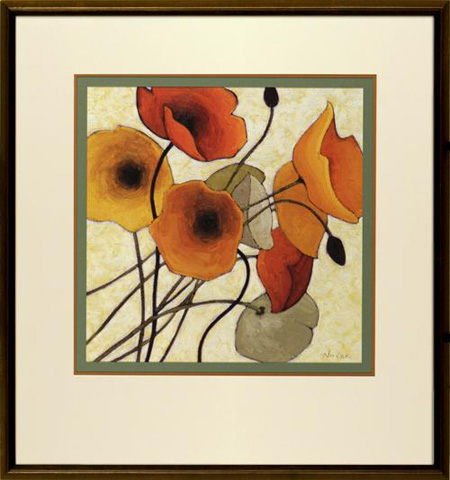 The Picture Source - Pumpkin Poppies II - N021A