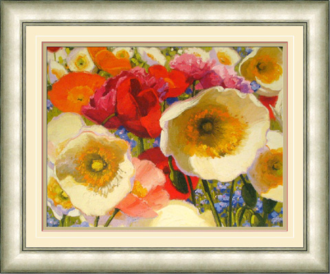 The Picture Source - Sunny Abundance In Silver Frame - N192S