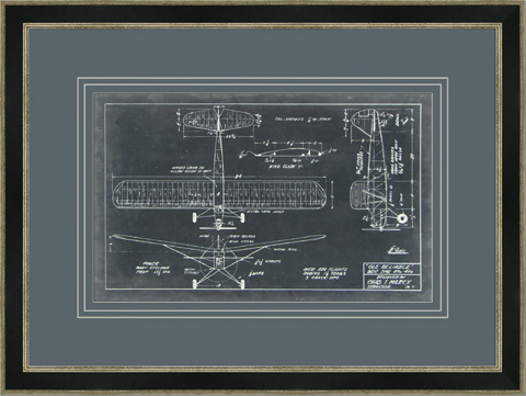 The Picture Source - Aeronautic Blueprint VIII - V108B