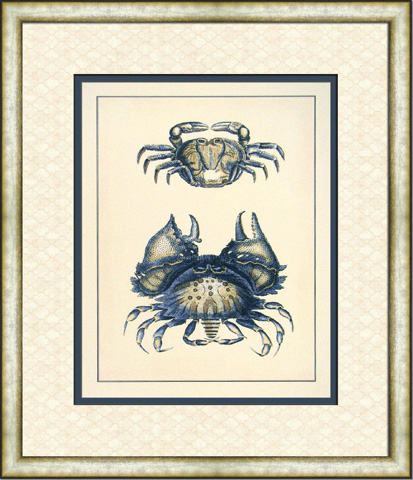 The Picture Source - Antique Blue Crabs I - V120A