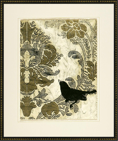 The Picture Source - Damask Songbirds I - V142A
